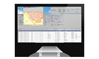computer kilometerregistratiesysteem